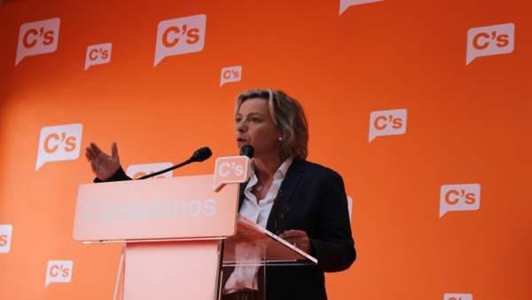 La parlamentaria andaluza de Cs por Córdoba, Isabel Albás