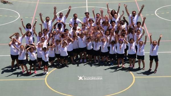Jornadas 'Más allá del deporte' de la Fundación Rafa Nadal y Telefónica