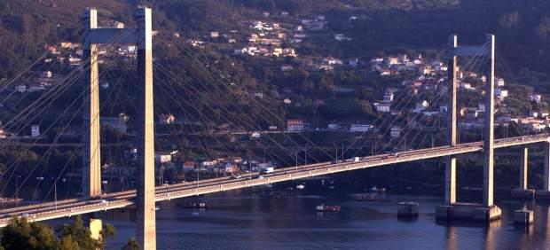 Muere un operario tras caer del puente de Rande de Vigo mientras trabajaba