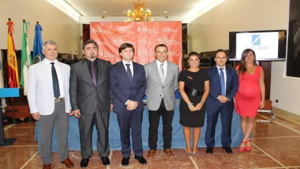 Caraballo y la nueva junta directival de Cosital