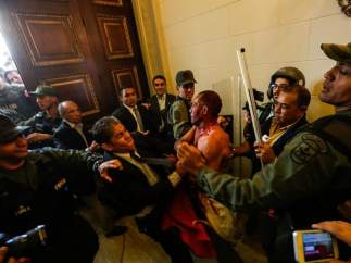 Entrando en el Parlamento