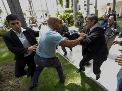 Ataque al Parlamento venezolano