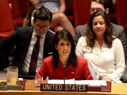 Embajadora de EE UU en la ONU