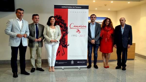 La presentación del congreso dedicado a Camarón