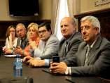 Soria: Torres, Soria, Pérez, Alonso, De Pablo y Elvira (D)
