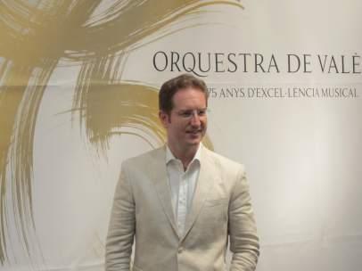 El nou director titular de l'Orquestra de València, Ramón Tebar