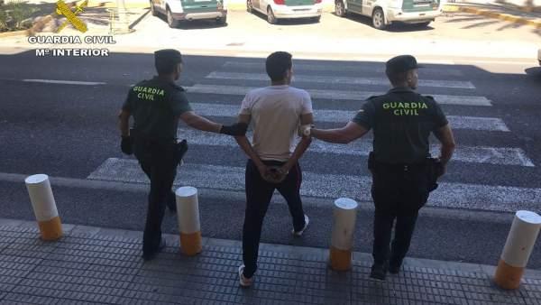 Hombre detenido en Altea