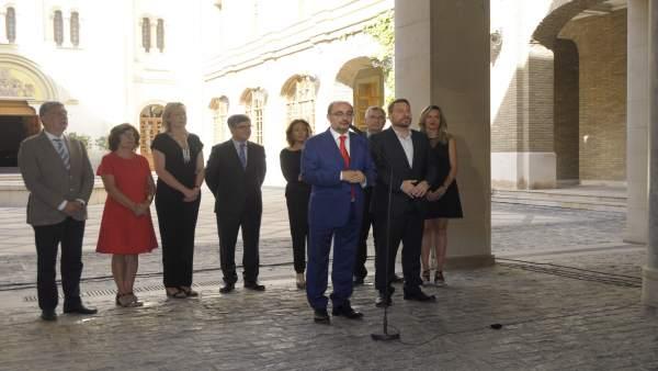 El Gobierno de Aragón hace balance del ecuador de la legislatura