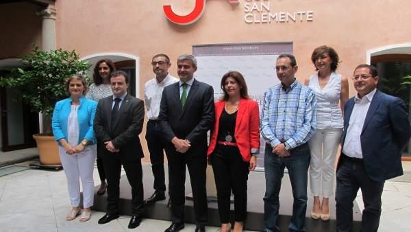 Presidente De La Diputación, Álvaro Gutiérrez