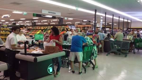 Tienda de Mercadona adaptada a un nuevo modelo más eficiente.