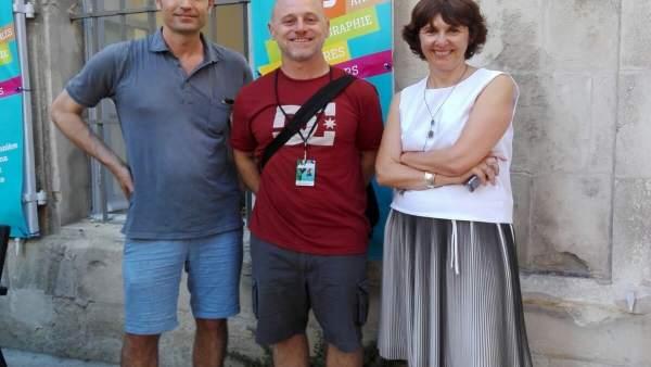 Asistentes de Baleares al festival Las Rencontres de Photographie