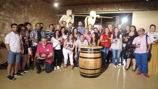 Imagen de los aspirantes a Vendimiadores  en Ontañón