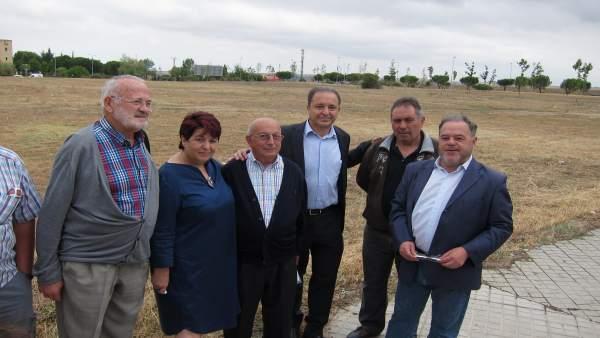 Segovia: Luquero Y Los Responsables Socialistas