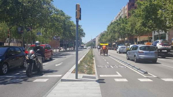Avenida Paral·lel de Barcelona.