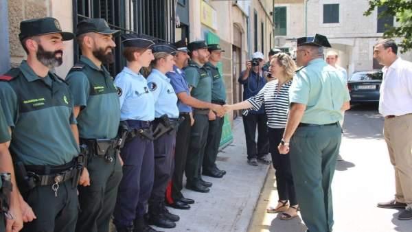 Salom da la bienvenida a los agentes de las patrullas mixtas