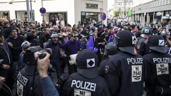 Protestas en la cumbre del G-20