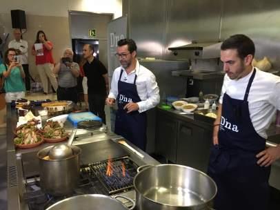 Dacosta reunirá a Aduriz, Roca, Jordi Cruz y León en el D*NA