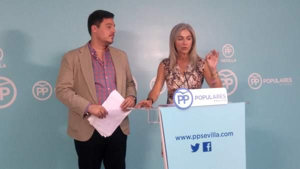 La parlamentaria popular, Patricia del Pozo