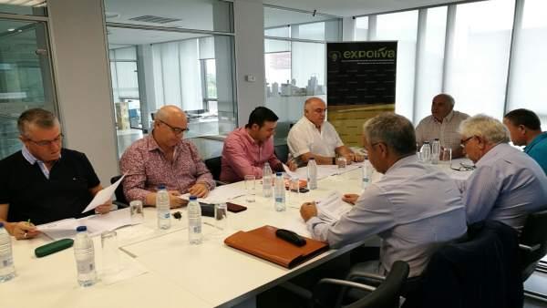 Reunión del Patronato de la Fundación del Olivar