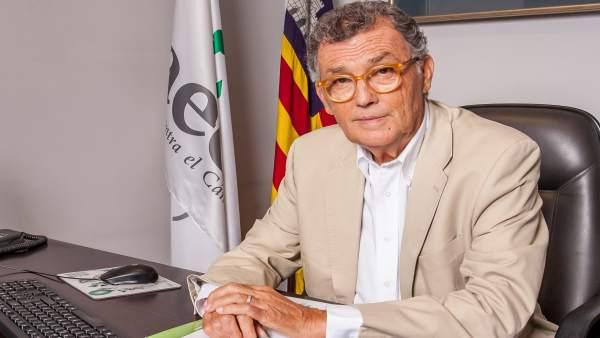 El presidente de la AECC en Baleares, Javier Cortés