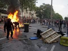 Los disturbios sacuden la cumbre del G-20