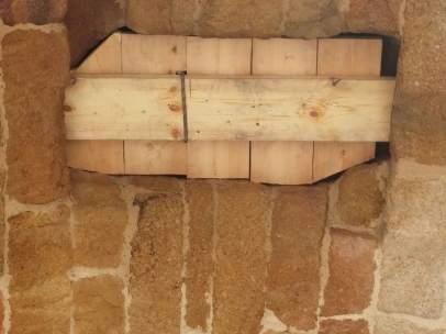 Arco peatonal de la muralla de Ávila
