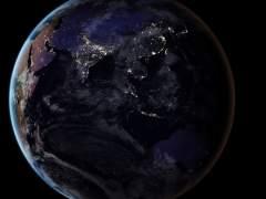 Las superficies iluminadas artificialmente en la Tierra aumentan más de un 2%