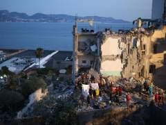 Derrumbe de un edificio en Nápoles