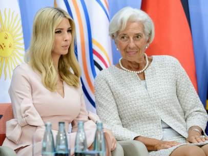 Ivanka Trump en la reunión del G20