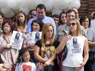 Concentración en Monesterio con motivo de la desaparición de Manuela Chavero