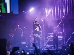 Daddy Yankee en su actuación en València