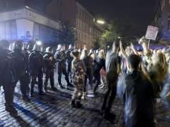 Protestas en Hamburgo