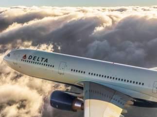 Un avión de Delta
