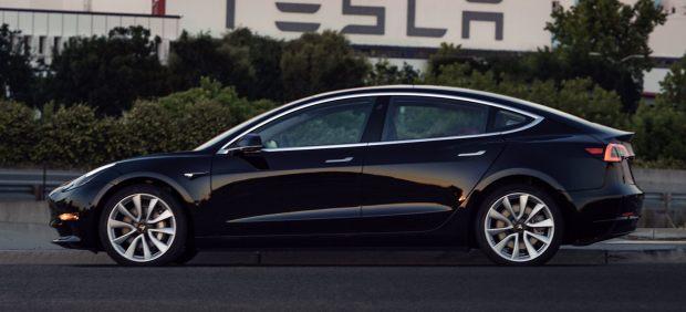 Primera foto oficial del Model 3