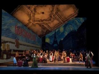 Una representació de 'La Bohème' del Palau dels Arts (arxiu)
