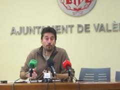 El ya exconcejal de Participación, Jordi Peris, en imagen de archivo