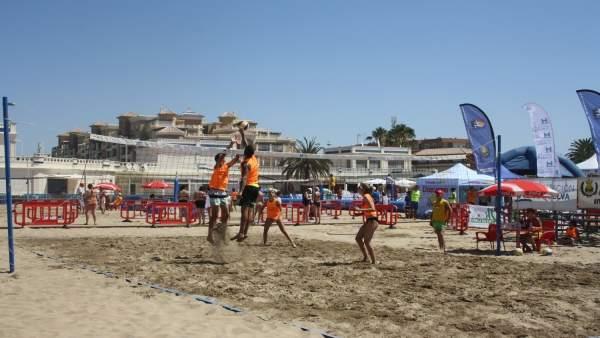 Nota De Prensa Y Fotos De Hoy, 11 De Julio, Circuitos Voley Playa Y 3X3 De Balon