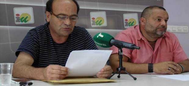 El alcalde de Encinasola, Ángel Méndez.