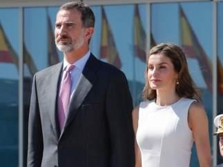 Los Reyes Felipe VI y Letizia