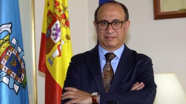 El delegado del Gobierno en Melilla, Abdelmalik El Barkani