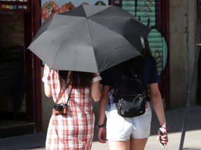Paraguas contra el sol