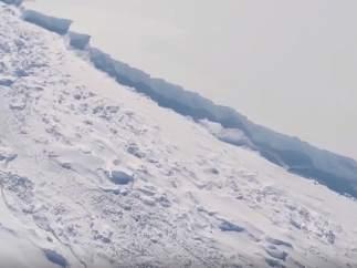 El iceberg más grande de la historia
