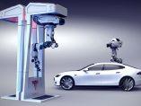 Recarga de Tesla con drones
