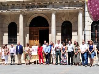 Minuto de silencio en recuerdo a Miguel Ángel Blanco en Teruel