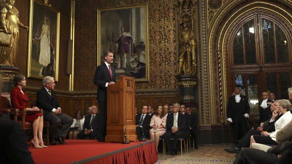 Discurso de Felipe VI en Westminster