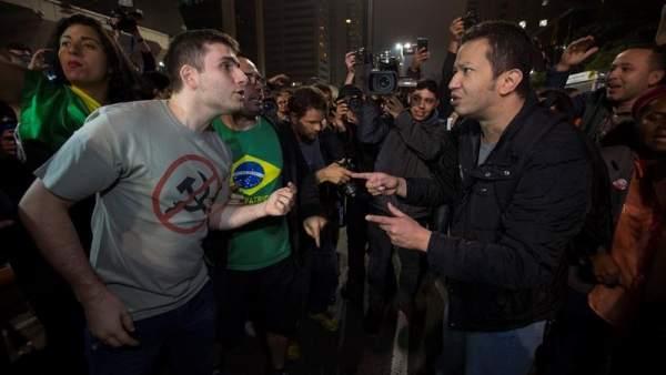 Manifestaciones tras la condena a Lula