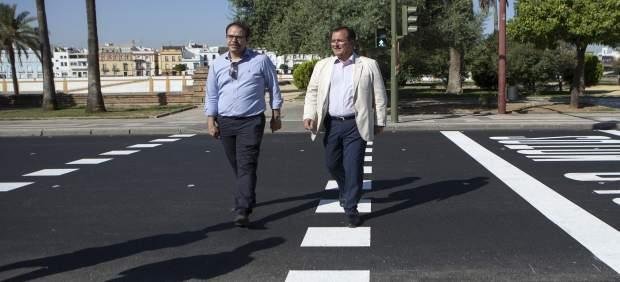 Sevilla. 11/07/2017. Juan Carlos Cabrera Visita El Estado Final De La Obra De As