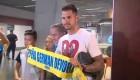 """Vitolo llega """"feliz"""" a Las Palmas"""
