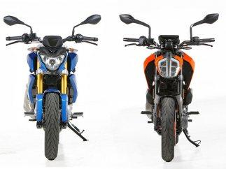 Comparativa entre la BMW G 310 R y la KTM 390 DUKE