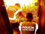Operación contra una banda de traficantes de marihuana
